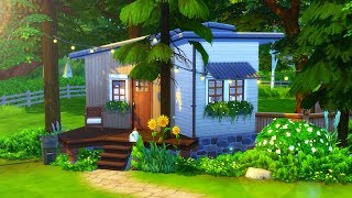 RECLAIMED TINY HOUSE // Sims 4 Speed Build