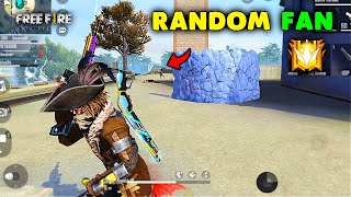 Clash Squad Gameplay with Random Fan Must Watch - Garena Free Fire
