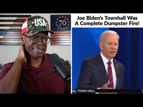 Joe Biden's CNN Townhall Was A BUMBLING Dumpster Fire!