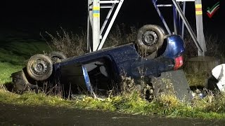 NRWspot.de | Hagen – Verkehrsunfall auf der Volmarsteiner Straße – PKW liegt auf dem Dach