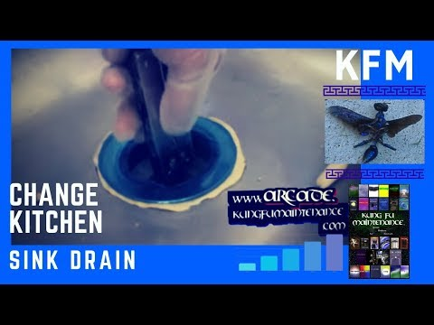 leaky kitchen sink drain how to replace a water leaking kitchen sink drain 6881