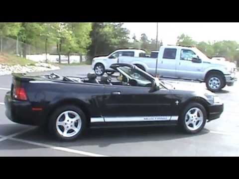 Classy Used 2002 Ford Mustang Convertible Value