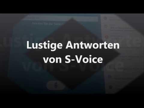 Lustige S Voice und Siri Fragen und Antworten