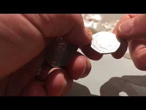 Coin Roll Hunt for Kew Gardens 50p 19/03/2018