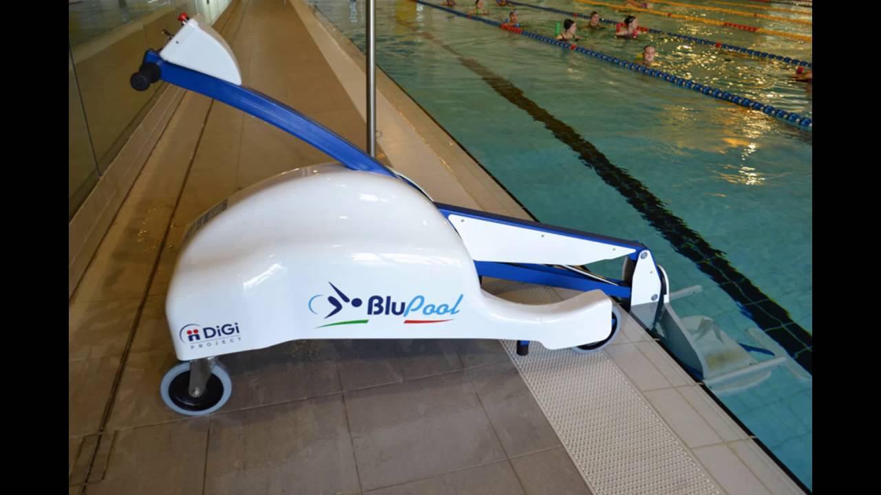 Blupool Portable Pool Lift Slideshow Youtube