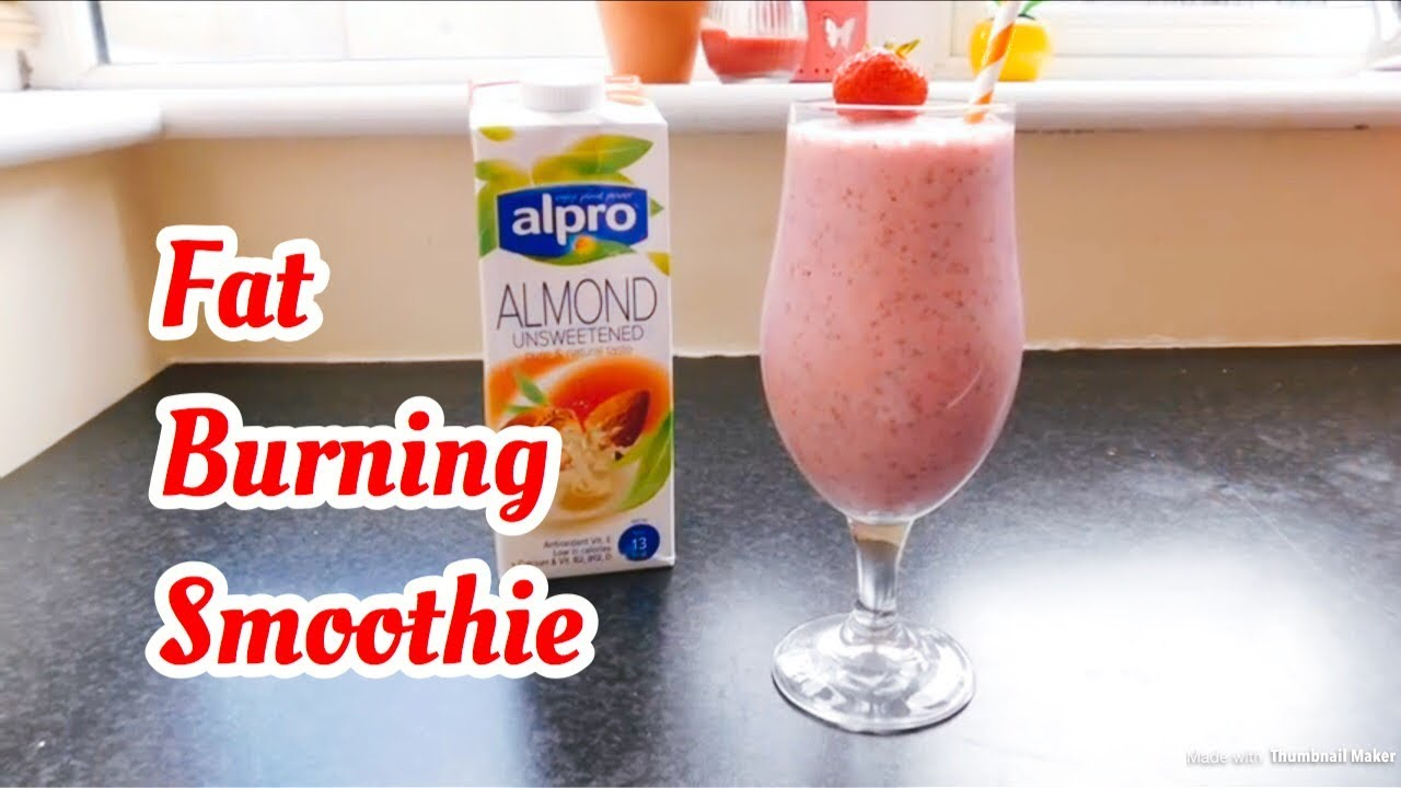Weight Loss Strawberry Banana Smoothie With Chia Seeds Youtube