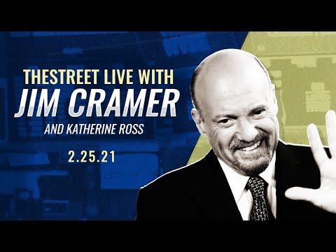 GameStop, Coinbase, Munger: Jim Cramer's Stock Market Breakdown - Feb. 25