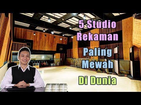 WOW! 5 Studio Rekaman Paling Mewah di Dunia