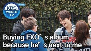 Buying EXO's album because he's next to me [Sooro's Rovers /2019.07.08]
