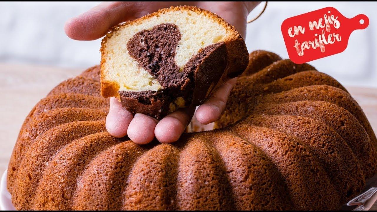 Kakaolu portakal parçalı kek tarifi