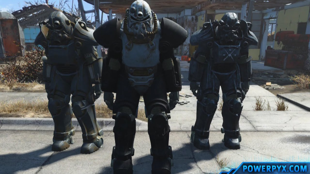 fallout 4 power armor station location how to repair upgrade