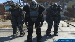 Fallout 4 - Power Armor Station Location - How to Repair, Upgrade and Paint Power Armor