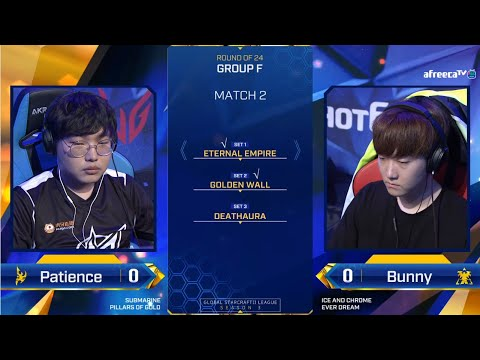 [2020 GSL S3] Ro.24 Group F Match2 Patience vs Bunny