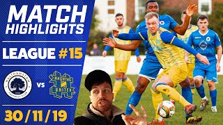 1ST V 2ND BUT THEY BANNED US! WALTHAMSTOW vs HASHTAG UNITED