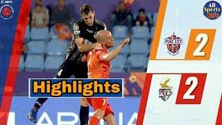 FC Pune City vs Atletico De Kolkata (ATK) Match Highlights & Analysis  