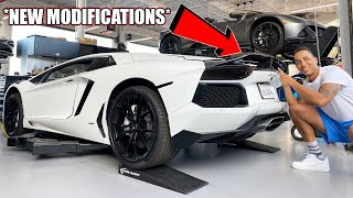 NEVER BEFORE SEEN ON A LAMBORGHINI AVENTADOR! *MUST SEE TO BELIEVE*