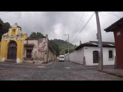 Guatemala Antigua Centre ville, Gopro / Guatemala Antigua City center, Gopro