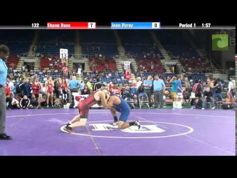 132 Shane Ross vs. Jean Perez