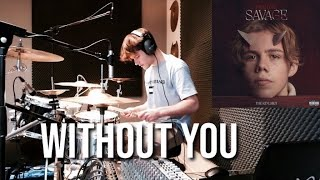 What if 'WITHOUT YOU' by The Kid Laroi had drums? - OFFICIAL DRUM COVER ©️AVE drums