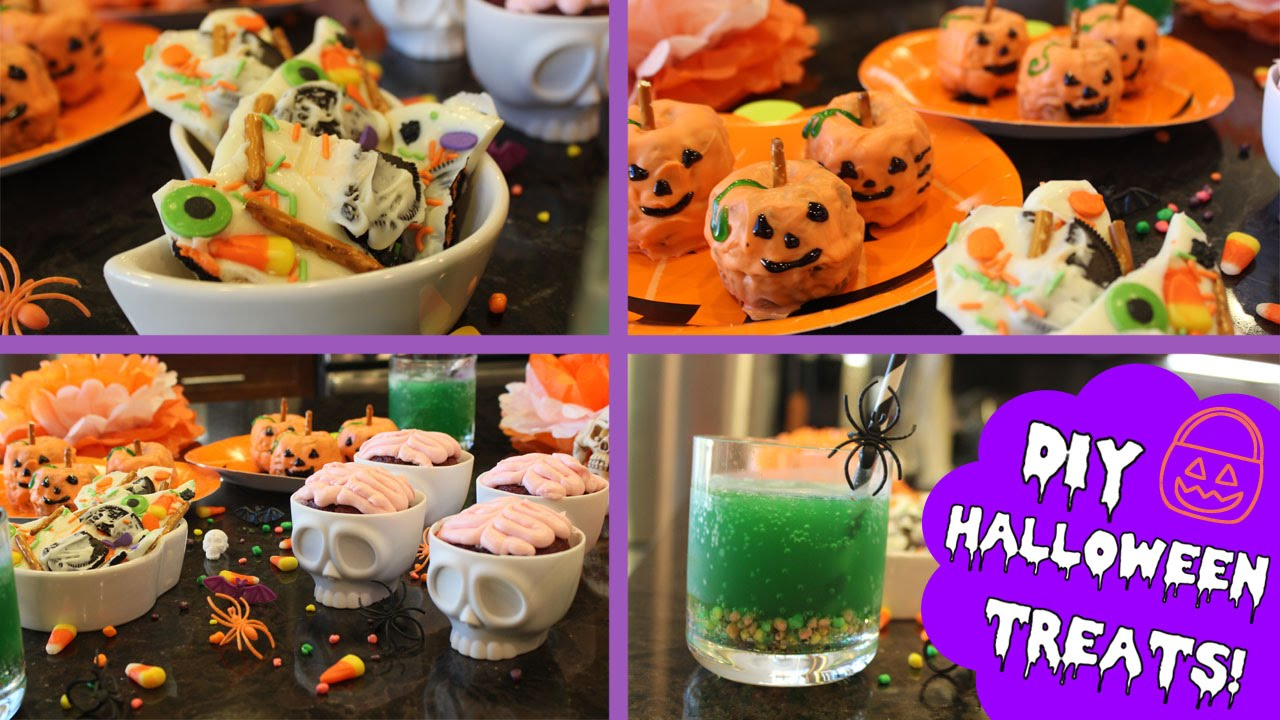 diy easy halloween treats! ♡ - youtube