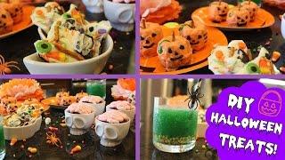DIY Easy Halloween Treats! ♡