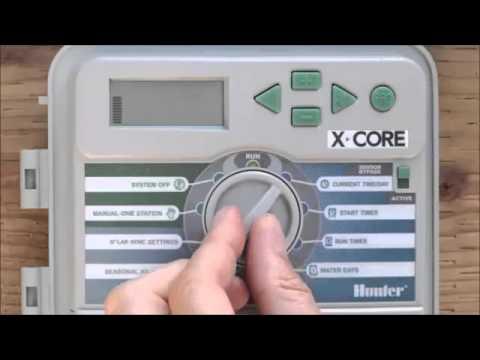 Hunter X-Core Otomatik Sulama Saati Ayarlaması(Mgf Plast İzmir)