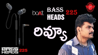 boat extra bass 225 earphones review ll in telugu ll by prasad ll