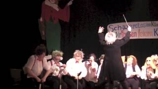 Frauenkarneval Lügde 2015 Tritsch Tratsch Polka Luftpumpenkonzert