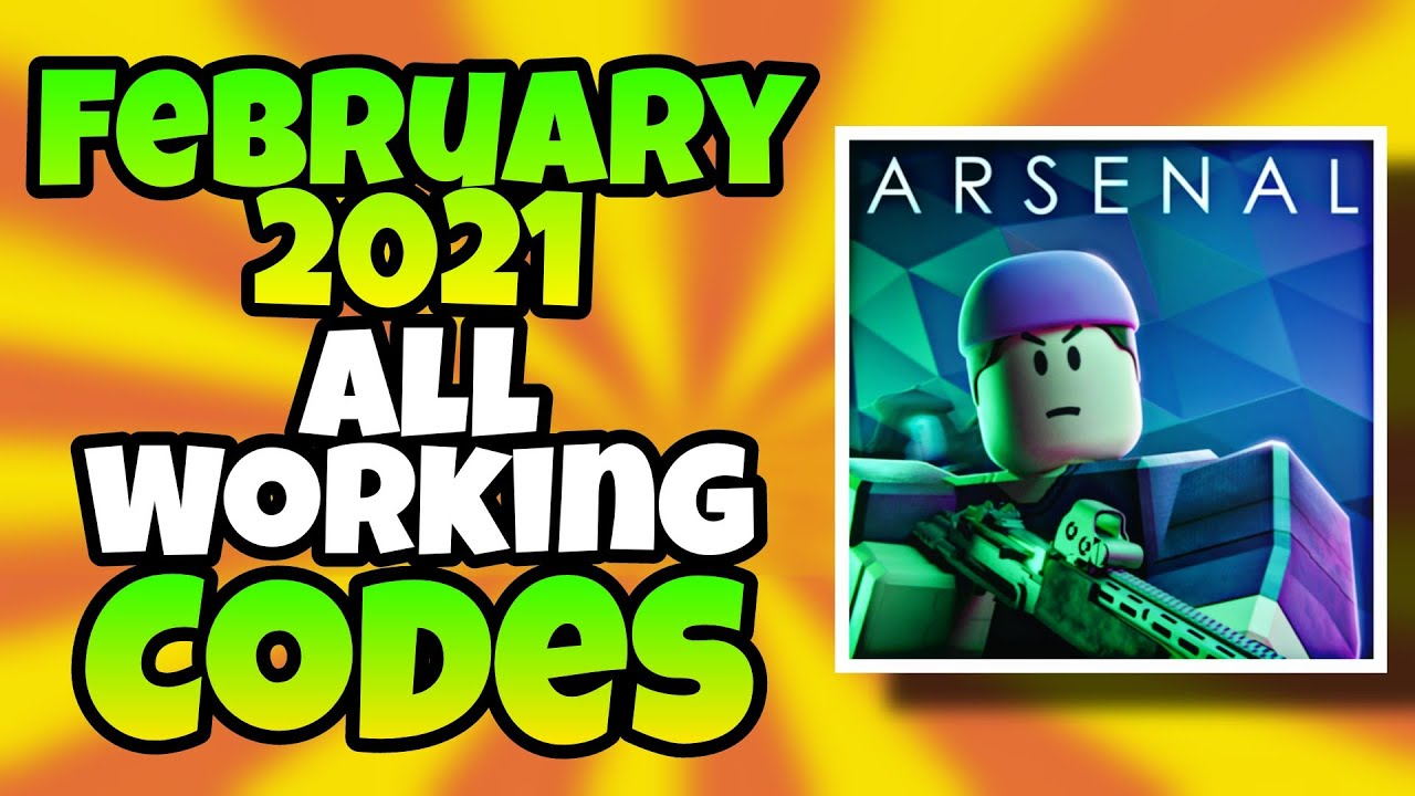 february 2021 all working codes in arsenal roblox arsenal codes 2021