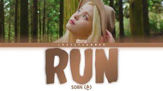 Download SORN (손) – RUN Lyrics (Color Coded Eng)