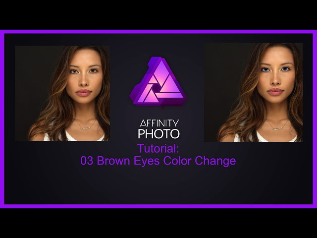 Affinity Photo Tutorial