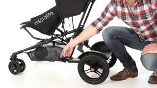 Micralite Twofold Pushchair  Kiddicare