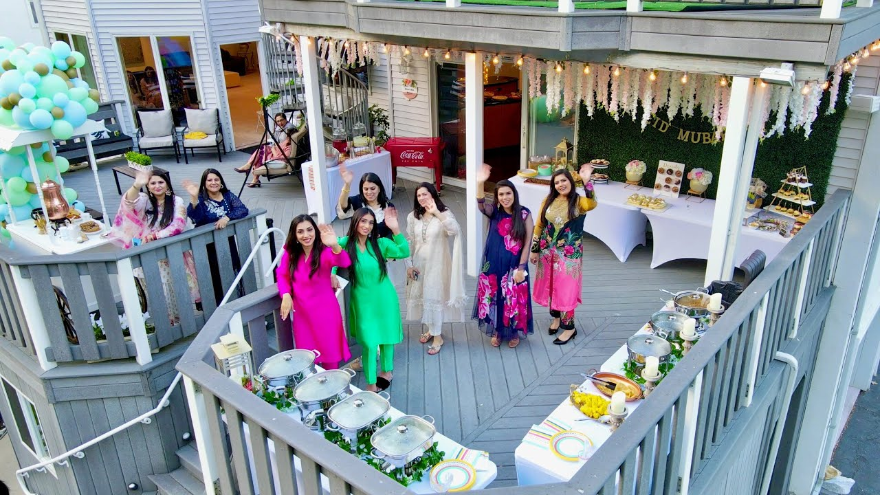 Eid Party at our House!