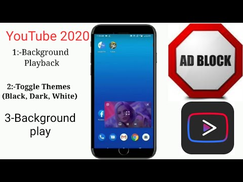 No ads |background play youtube | youtube vanced apk , microg download | YouTube Vanced a to z