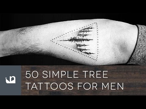 50 Simple Tree Tattoos For Men