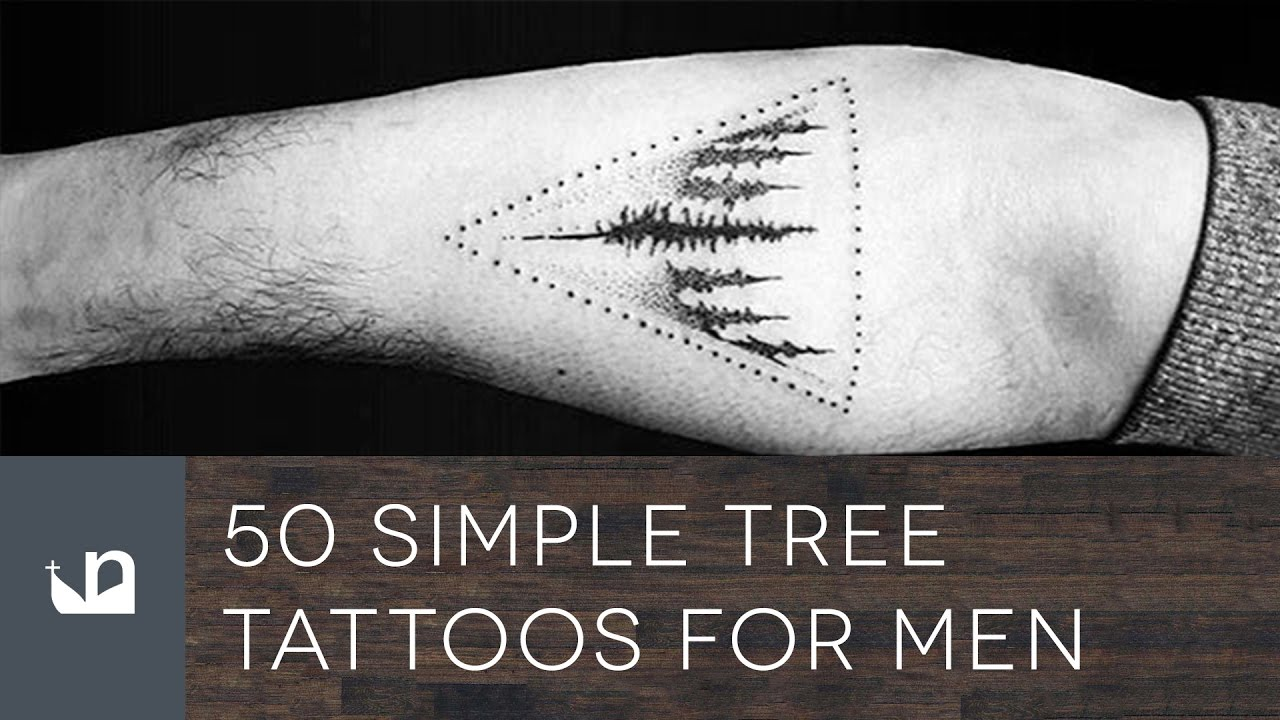 50 simple tree tattoos for men youtube. Black Bedroom Furniture Sets. Home Design Ideas