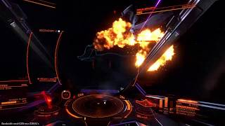 PvP Eagle vs Imperial Clipper. Trouble in Maia (Elite Dangerous)