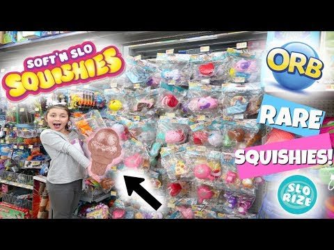 RARE JUMBO ROSE GOLD SQUISHY! RARE SQUISHIES AT WALMART!! SO MANY!