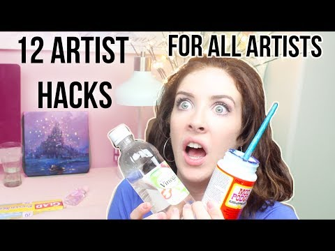 12 ARTIST HACKS for EVERY Artist!