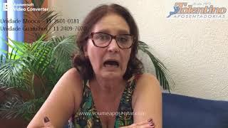 Tolentino Aposentadorias - Depoimento de Maria Aparecida