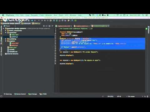 Patrones de Diseño en Javascript Sesión 1