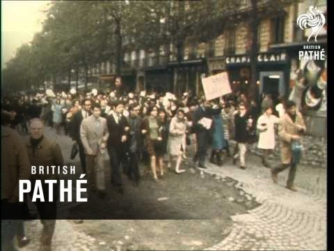 Riots In Paris (1968)