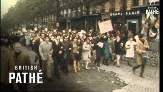 Riots In Paris (1968)