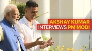 Watch Akshay Kumar's Interview With PM Modi | Full Video