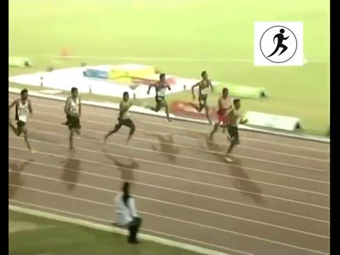 12th South Asian Games - 2016 100m Men's Final