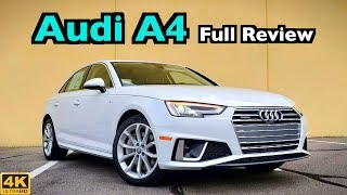 2019 Audi A4 FULL REVIEW DRIVE More Updates Than What Meets the Eye