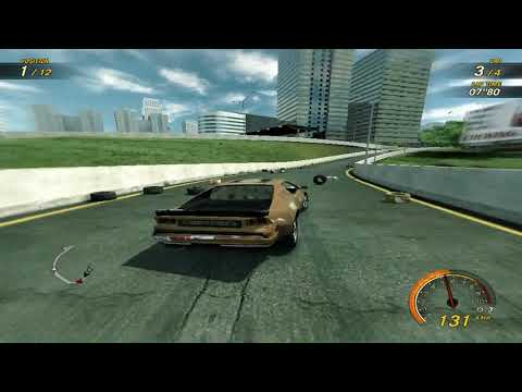 flatout 3 : race 27 with my car of splitter