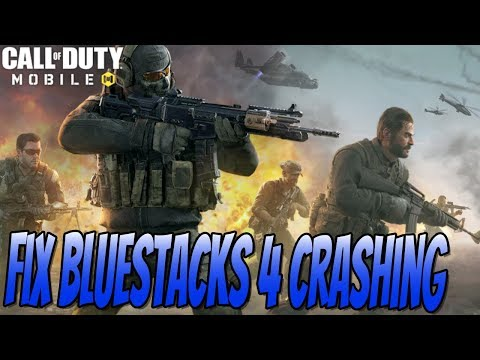 How To FIX Call Of Duty Mobile From Crashing In BlueStacks 4 Tutorial