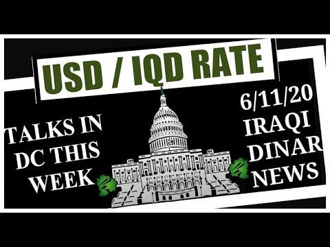Iraq News Updates USD IQD Exchange Rate $1M Tax Write Off