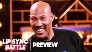"""LaVar Ball Performs """"Hate Me Now"""" by Nas ft. Puff Daddy 